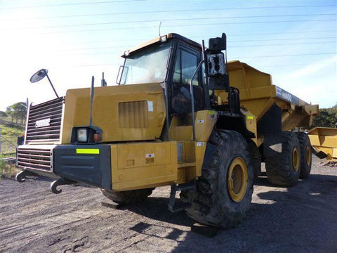 Komatsu Galeo HM400-1 Articulated Dump Truck Official Field Assembly Instruction Manual