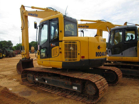 Komatsu PC138USLC-10 Hydraulic Excavator Official Workshop Service Repair Technical Manual