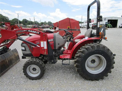Case IH Farmall 35A Farmall 40A Tier 4B (final) Compact Tractors Service Repair Manual
