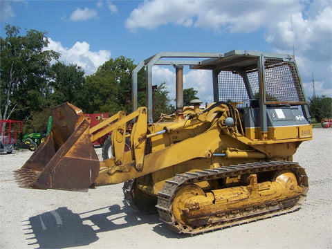 Komatsu D41S-3 D41Q-3 Crawler Loader Official Workshop Service Repair Manual