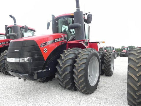 Case IH Steiger 370 420 470 500 Tier 4B (Final) Tractors Official Workshop Service Repair Manual