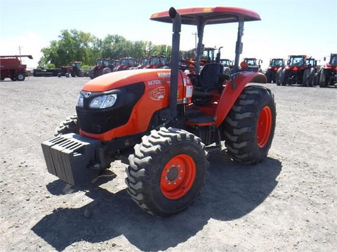 Kubota M6060 M7060 Tractor Official Workshop Service Repair Manual