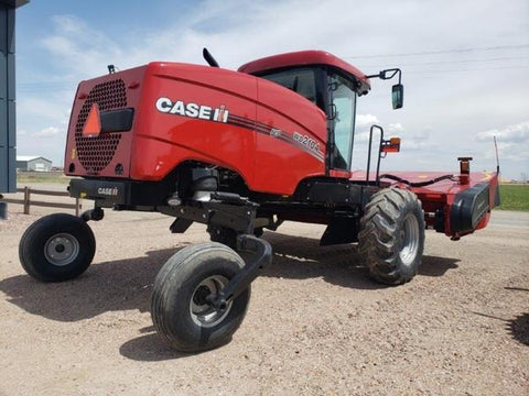 Case IH WD2104 WD2504 Tier 4B (Final) Self Propelled Windrower Official Workshop Service Repair Manual