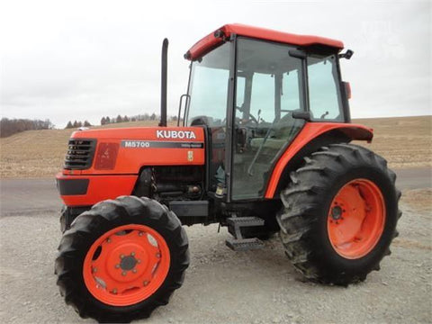 Kubota M4900 M5700 Tractor Official Workshop Service Repair Manual