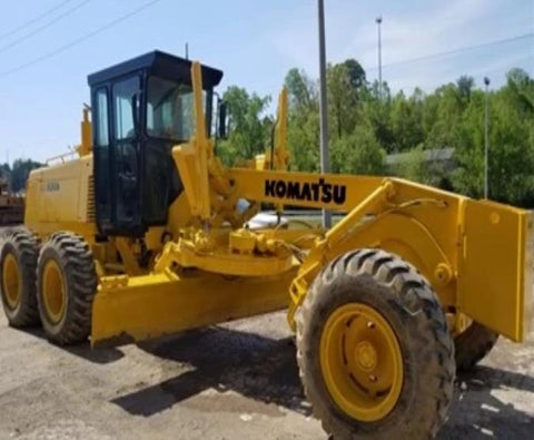 Komatsu GD670A-2E GD670A-2C Motor Grader Official Workshop Service Repair Manual
