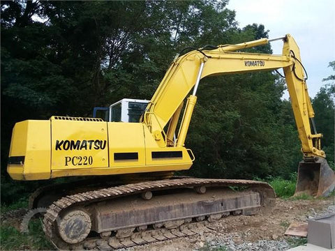 Komatsu PC220LC-5 PC220LC-5 Mighty Hydraulic Excavator Official Workshop Service Manual