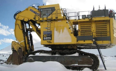 Komatsu PC5500-6 Diesel Hydraulic Excavator Mining Germany Official Workshop Service Repair Manual