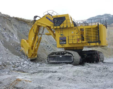 Komatsu PC4000-6 Electro Hydraulic Excavator Mining Germany Official Workshop Service Manual