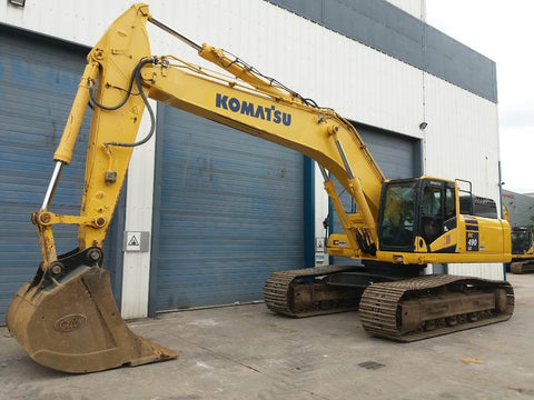 Komatsu PC490LC-10 Hydraulic Excavator Official Workshop Service Repair Technical Manual