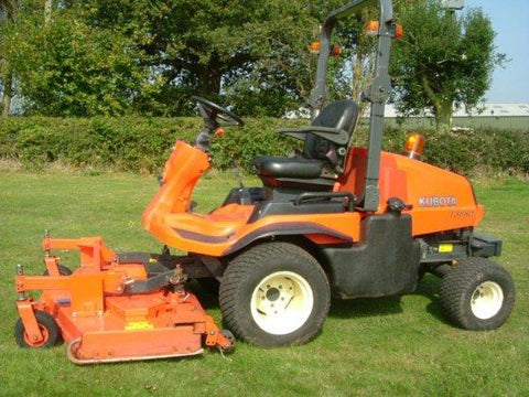 Kubota F2880 F3680 RCK72-F36 RCK72R-F36 Mower Official Workshop Service Repair Manual