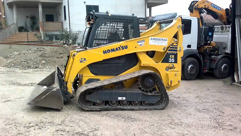 Komatsu CK35-1 Crawler Skid Steer Loader OEM Official Workshop Service Repair Manual