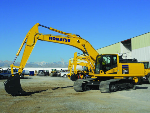 Komatsu PC360LC-10 Hydraulic Excavator Official Workshop Service Repair Technical Manual