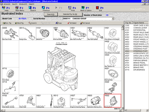 Toyota ALL Industrial Equipment EPC v2.27 - Toyota EPC 2020 All Models & Serials Parts Catalog & Diagrams
