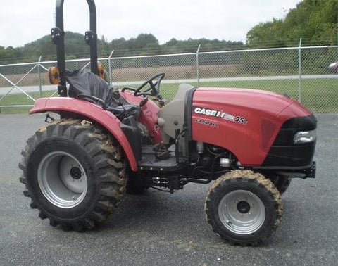 Case IH Farmall 35C Farmall 40C Tier 4B (Final) Compact Tractor Official Workshop Service Repair Manual