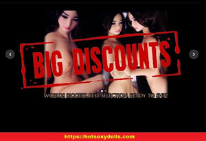 Big Discount on Sex dolls, HotSexyDolls Coupons, Sex Doll Promo Codes