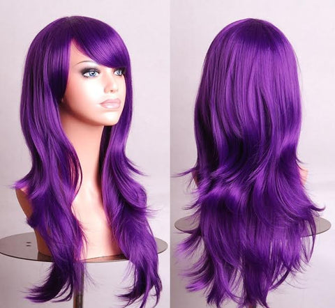 Party Sex Doll Wig Purple #20