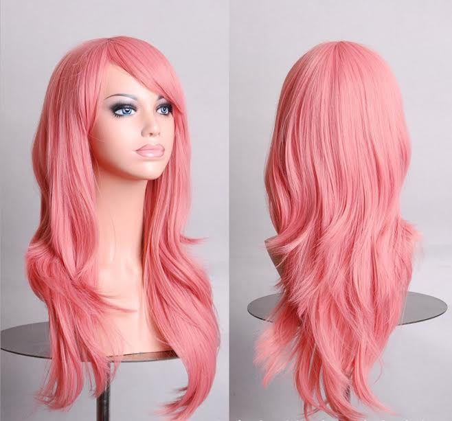 Party Sex Doll Wig Pink #22