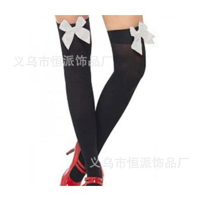 #38 Black and Red Striped Socks Size 100cm - 175cm