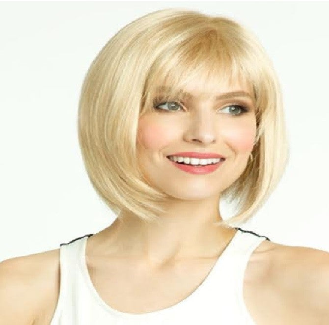 Blonde Short with Bangs Sex Doll Wig #3
