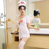 #2 Foreign trade sexy lingerie nurse uniform Outfit Size 100cm - 175cm