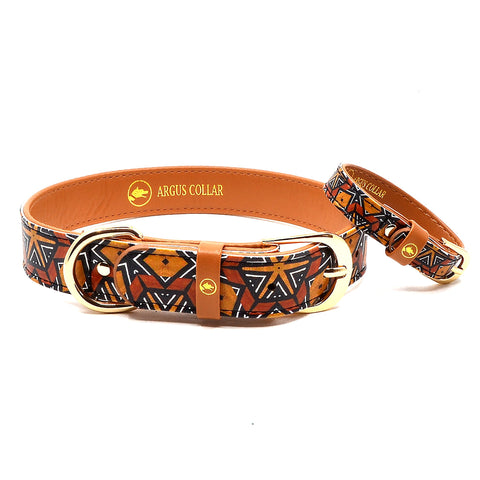 "The ""Bogolan"" Dog Collar - ArgusCollar"