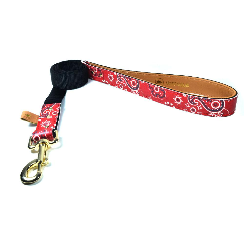 "The ""Bandana Classic"" Leash - ArgusCollar"