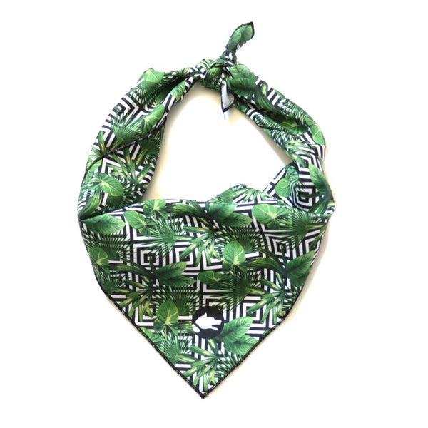 "The ""Palm Tree"" Dog Bandana"
