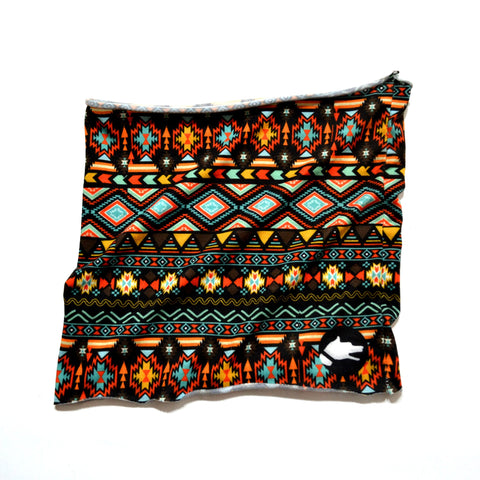 "The ""Aztec"" Tunnel Scarf - ArgusCollar"