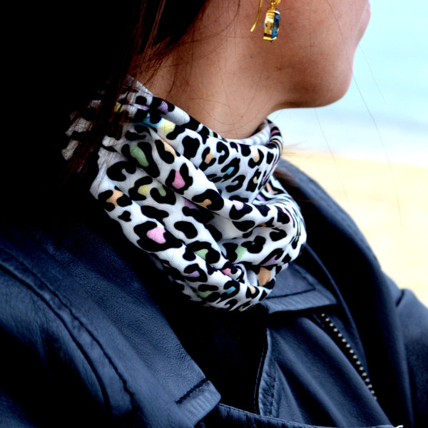 "The ""Jungle"" Tunnel Scarf - ArgusCollar"
