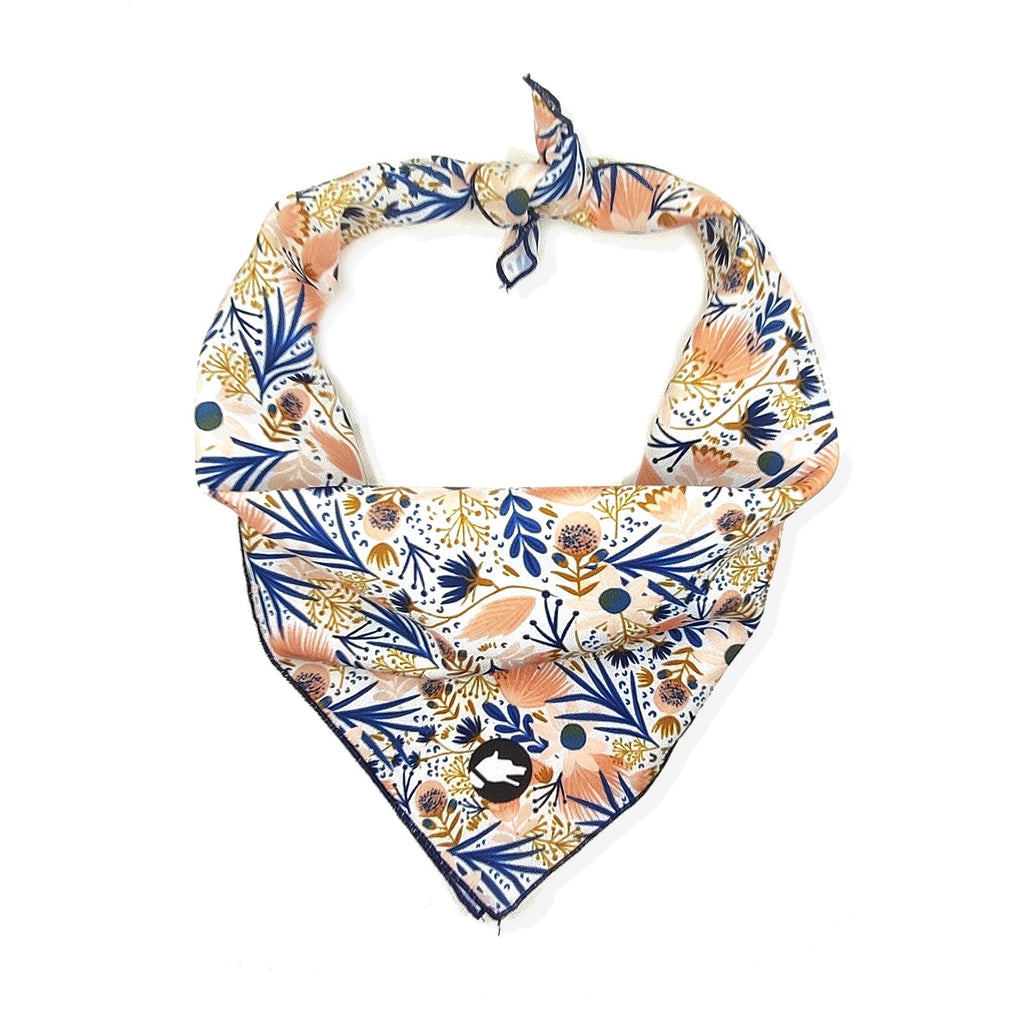 "The ""Floral"" Dog Bandana - ArgusCollar"