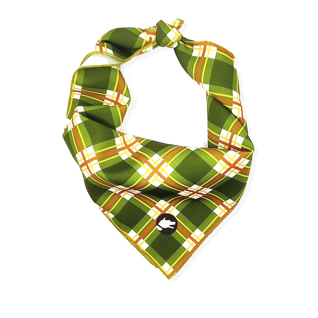 "The ""Preppy"" Dog Bandana - ArgusCollar"