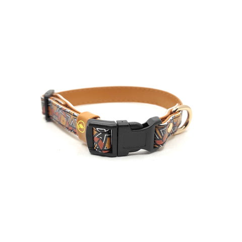 "The ""Bogolan"" Cat Collar - ArgusCollar"