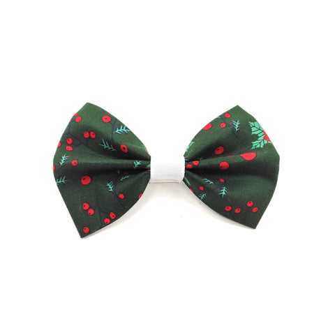 "The ""Elfie"" Dog Bow Tie - ArgusCollar"