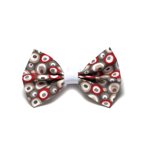 "The ""Round eyes"" Dog Bow Tie - ArgusCollar"