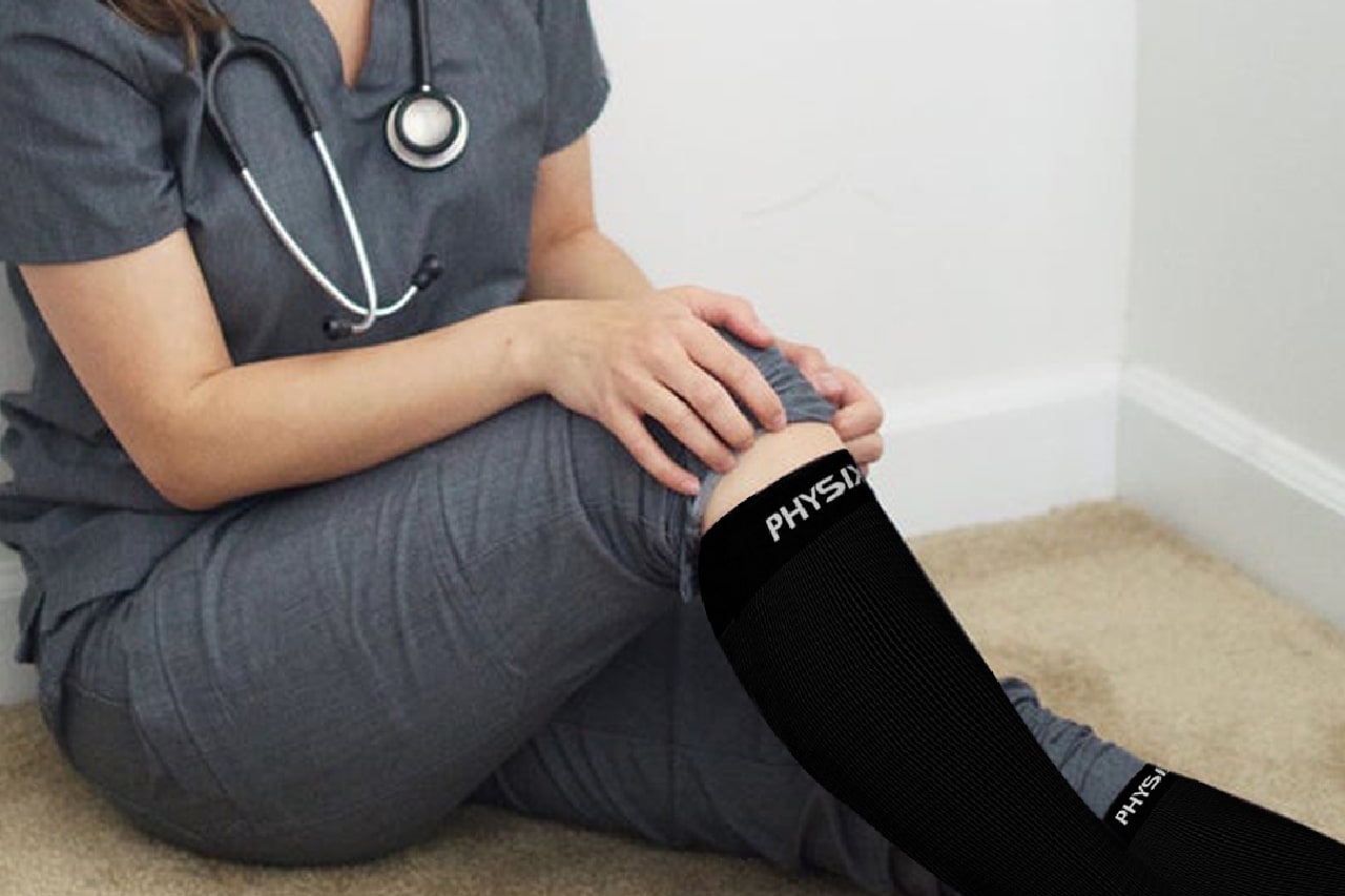 How Wearing Compression Socks Helps Shift Workers