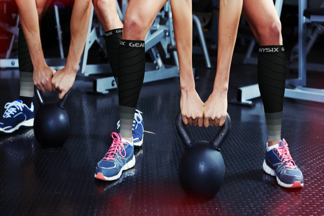 The Difference Between Calf Compression Sleeves and Full Length Compression Socks