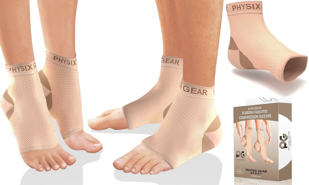 Enjoy Instant Relief From Excruciating Pain Through Plantar Fasciitis Sleeve From Physix Gear Sport