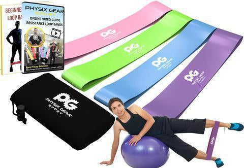 Buy best quality resistance loop bands for exercising-Physix Gear Sport