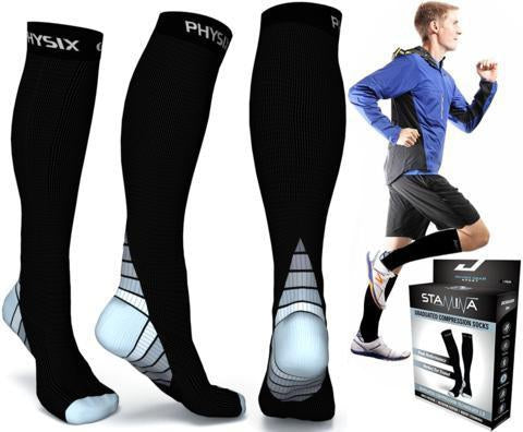 Buy calf compression socks online from leading store-Physix Gear Sport