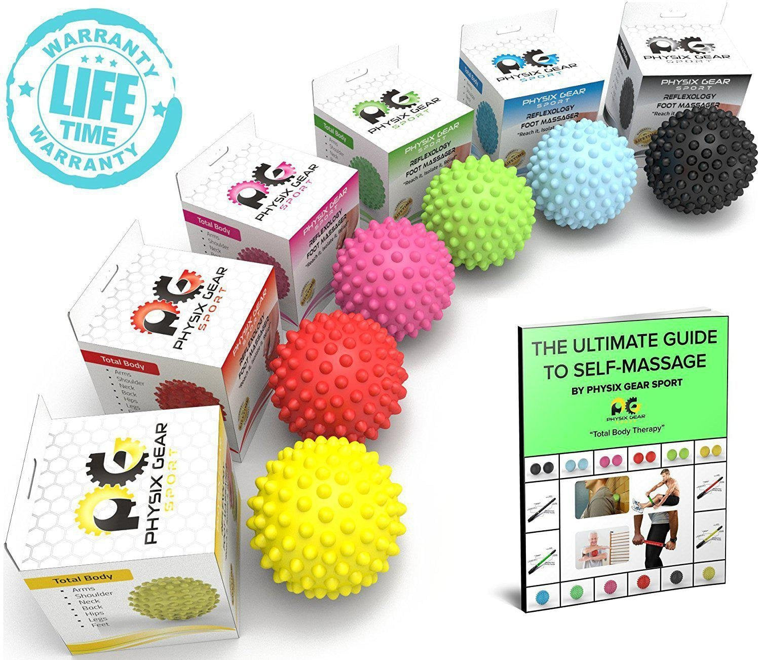 Give your feet an excellent care with the trigger point massage balls-Physix Gear Sport