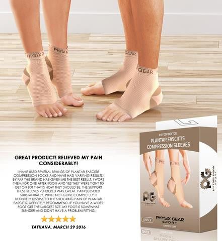 9bed4abf21 You are cordially invited to try out our plantar fasciitis products and  won't regret making this decision. The shoes, socks or even sleeves are  designed to ...