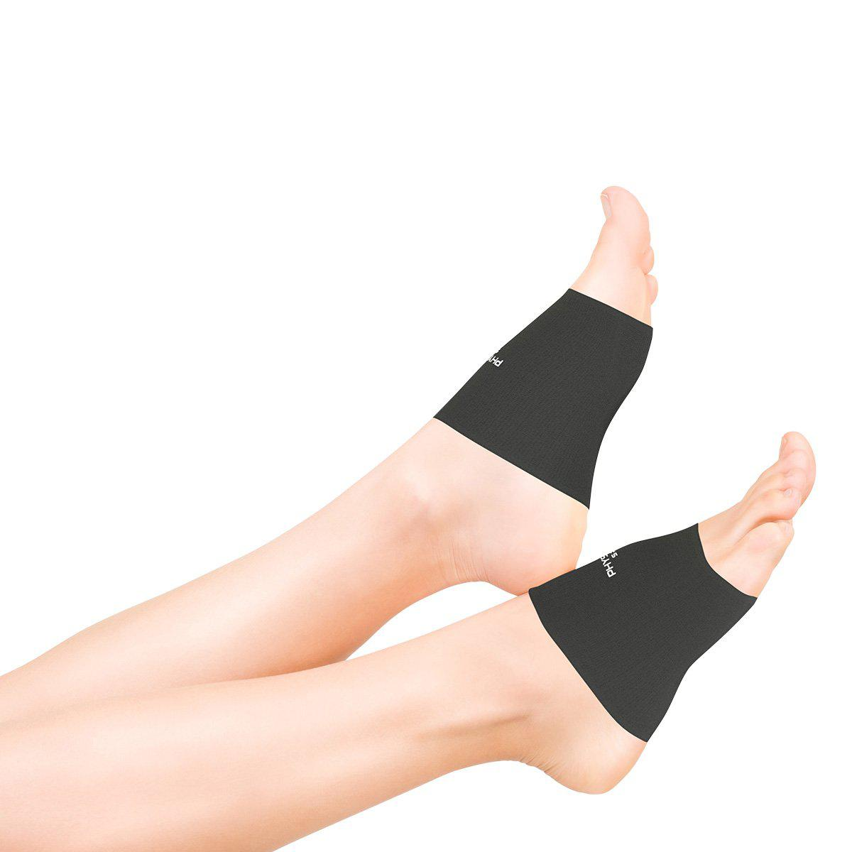 Black Arch Sleeves for Plantar Fasciitis