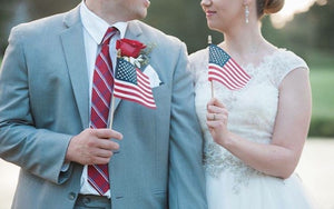 Patriotic Themed Wedding Ideas