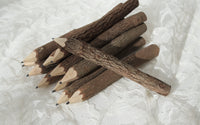 Natural Twig Branch Pencil Rustic Wedding Guest Book - maidenlaneboutique