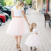 [flower girl tulle skirt] - maidenlaneboutique