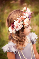 autumn wedding flower crown