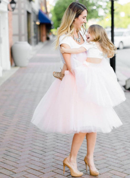 Pale Pink Tutu Tulle skirt - maidenlaneboutique