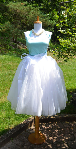 White Tulle skirt tutu - maidenlaneboutique