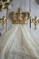 gold crown curtain tie backs