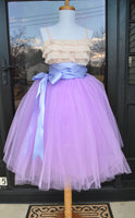 Lilac Lavender Tulle skirt - maidenlaneboutique